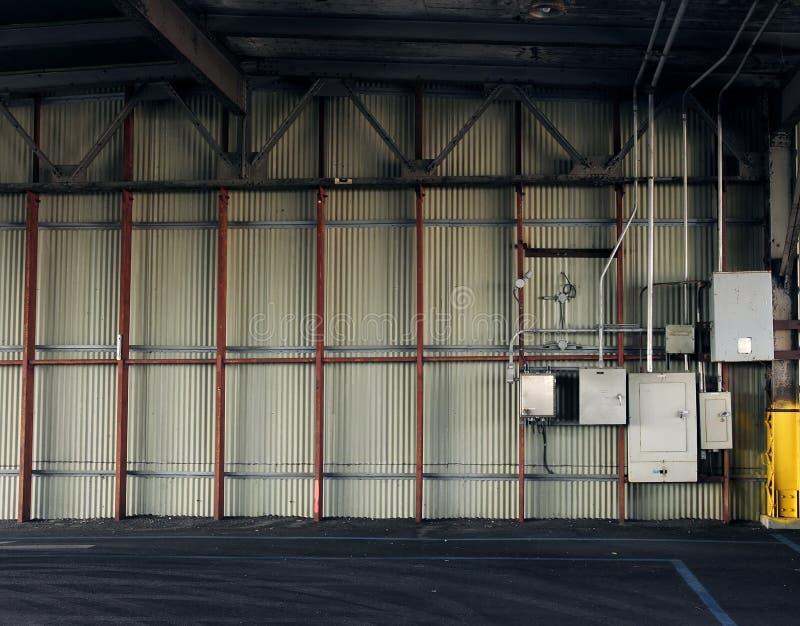 inre parkering arkivbild