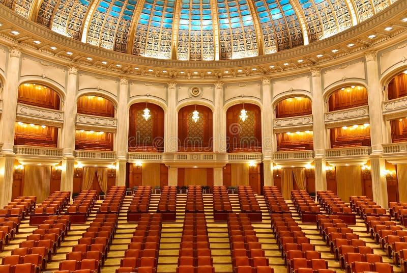 inre parlament arkivbilder