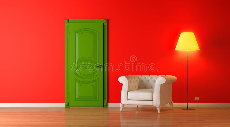 Download Inre red stock illustrationer. Illustration av design - 19790055