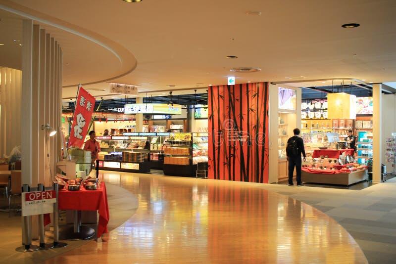 Inre sikt av nya Chitose Airport, OKKAIDO, arkivfoto