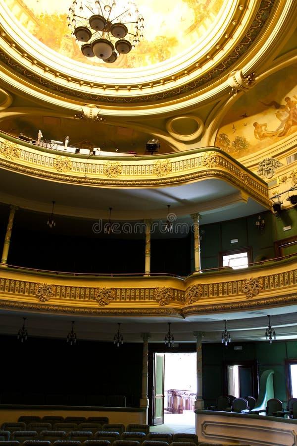 inre teater arkivbilder