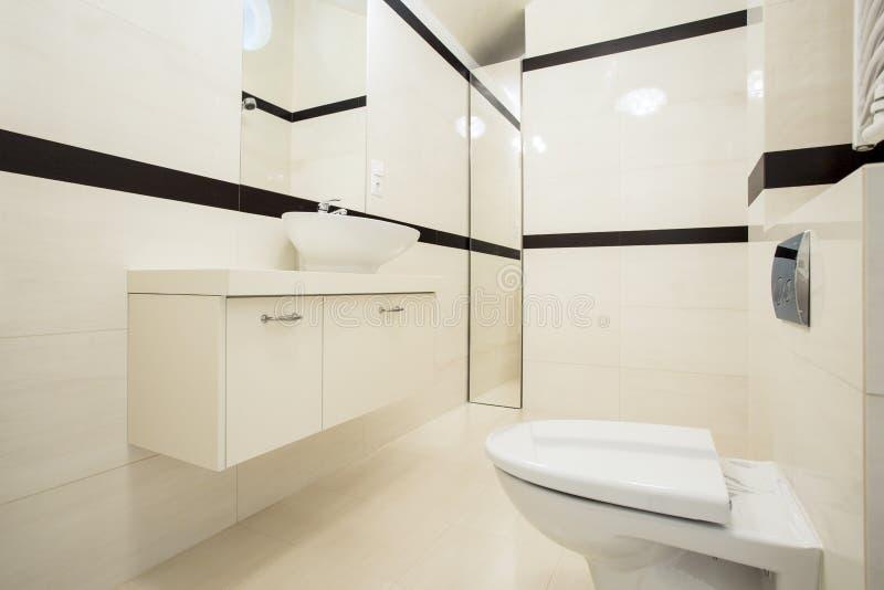 inre toalett royaltyfria foton