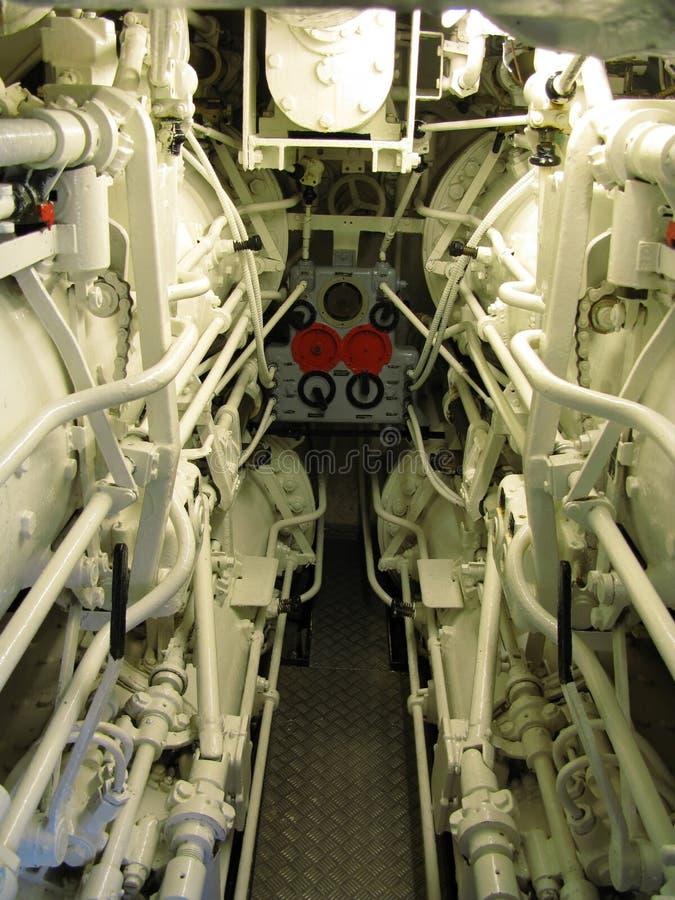 inre ubåt royaltyfri bild