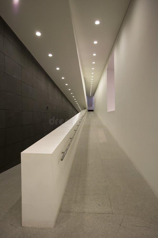 inre walkway royaltyfria foton