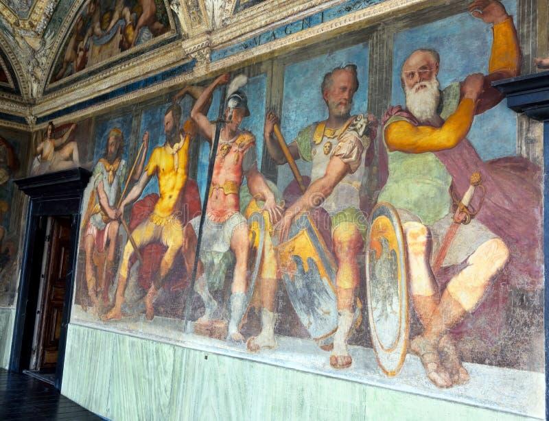 Inrevilladel Principe Genoa Italy arkivfoto