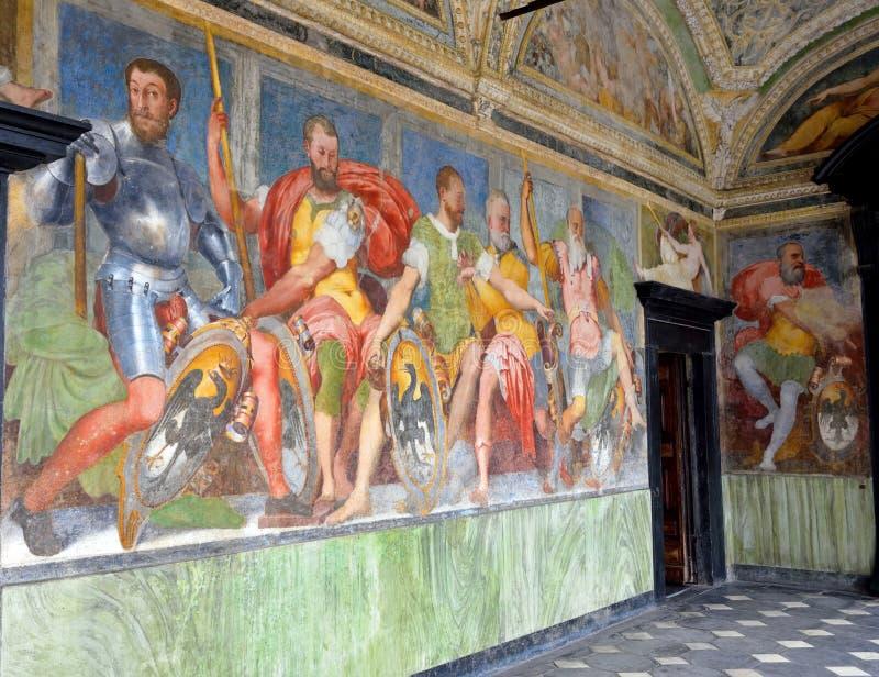 Inrevilladel Principe Genoa Italy royaltyfria foton