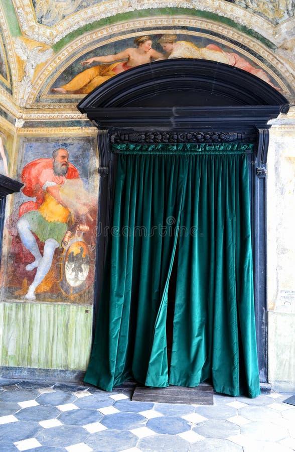 Inrevilladel Principe Genoa Italy royaltyfri fotografi