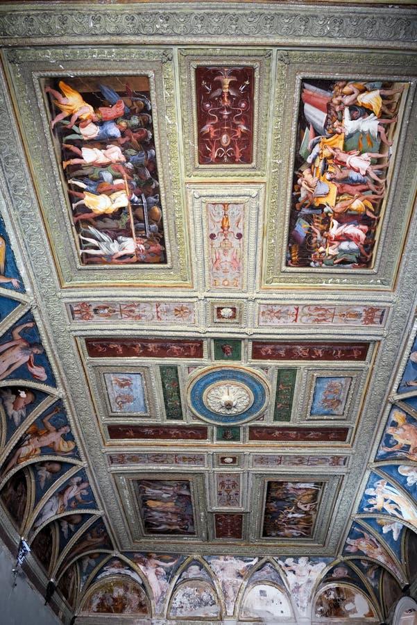 Inrevilladel Principe Genoa Italy royaltyfri foto