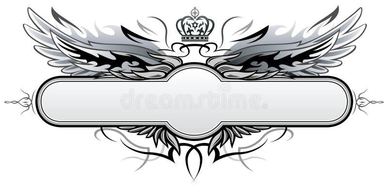Download Insígnias góticos do vetor ilustração do vetor. Ilustração de elementos - 10053533