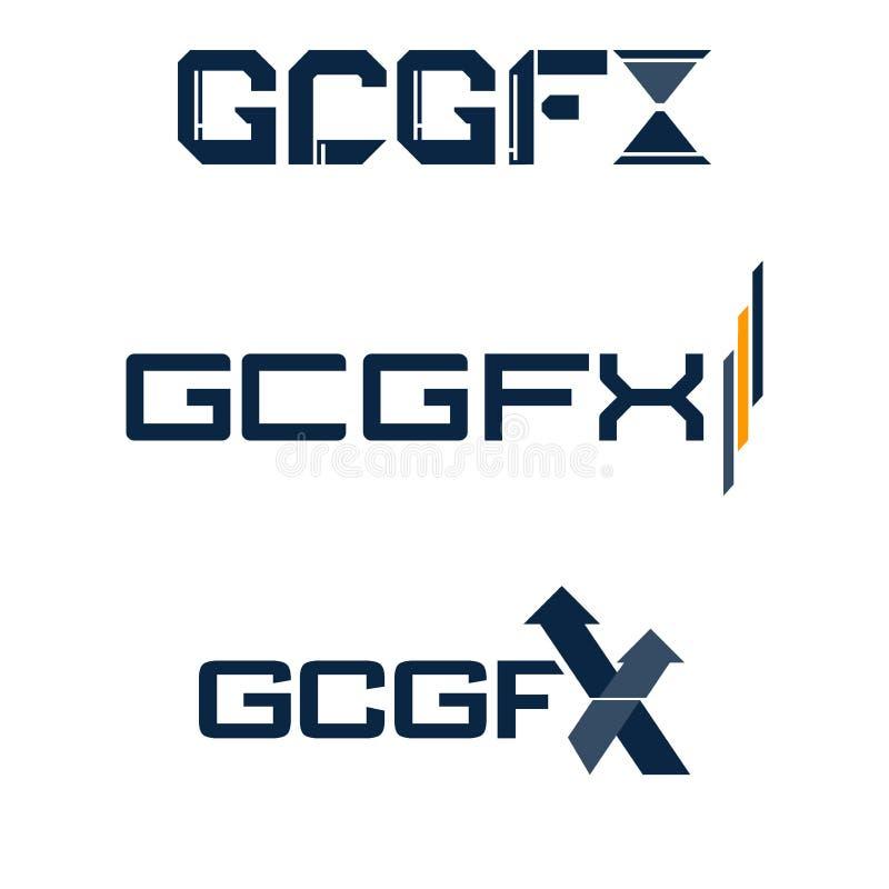 Insígnias ou Logotypes ajustadas Sinais, logotipos, identidade, etiquetas, crachás e objetos do negócio ilustração royalty free