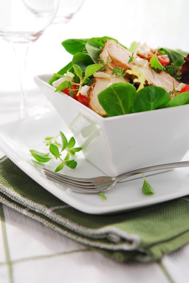 Download Insalata immagine stock. Immagine di erbe, fresco, pollo - 3139317