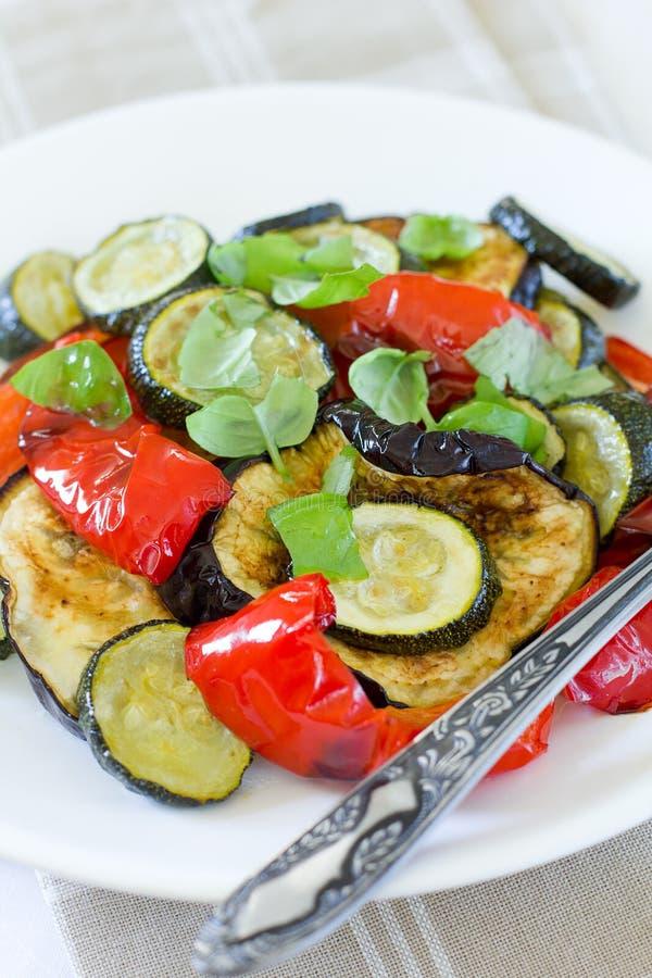 Insalata calda delle verdure immagine stock