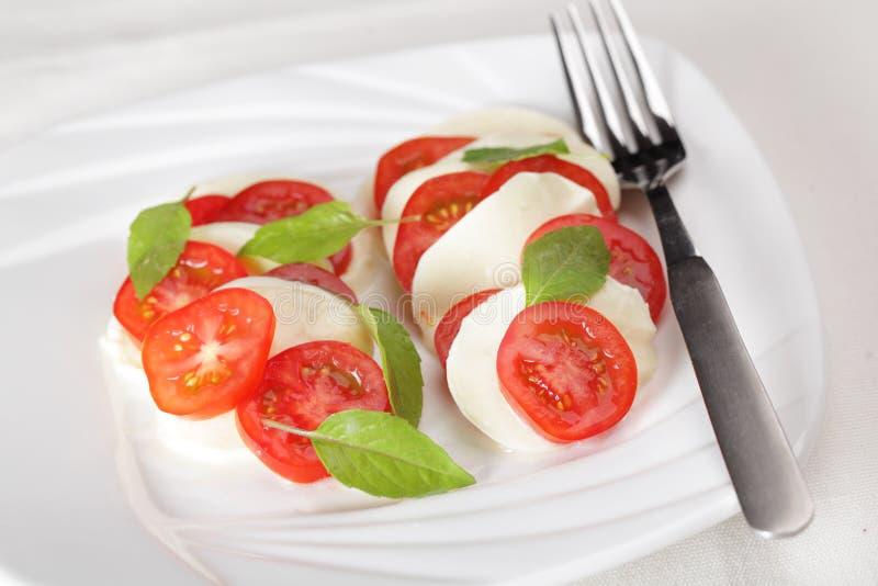 Download Insalata Caprese stock image. Image of vegetable, square - 22098433