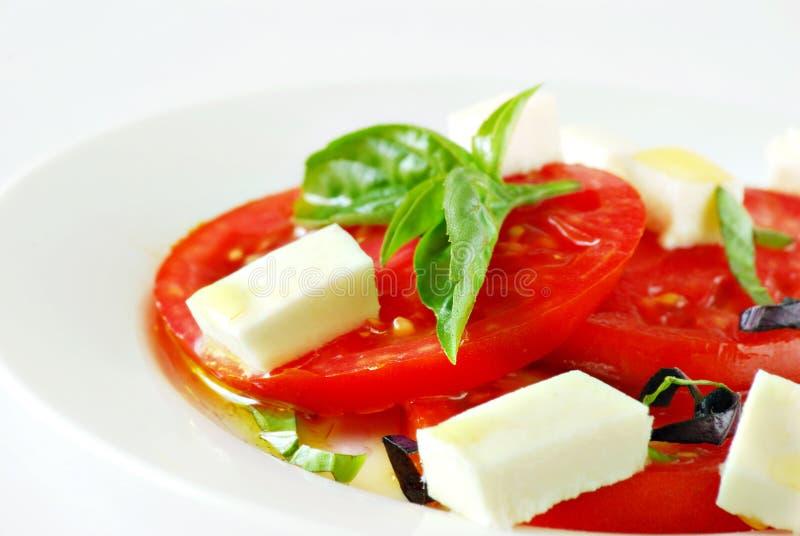 insalata caprese zdjęcia stock