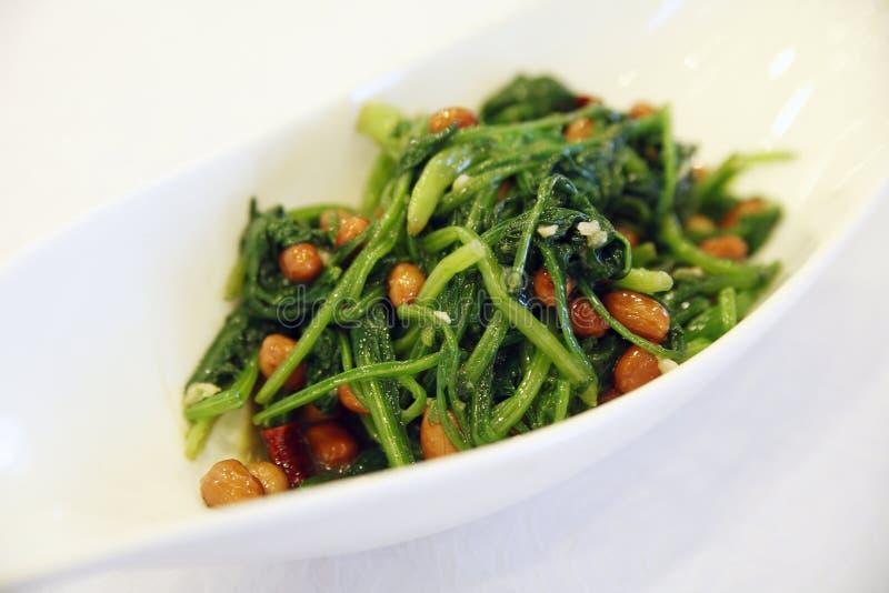 Insalata degli spinaci immagine stock libera da diritti
