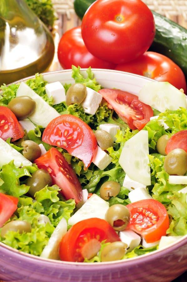 insalata del Feta-formaggio immagini stock