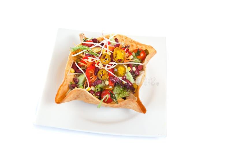 Insalata del Taco immagine stock libera da diritti