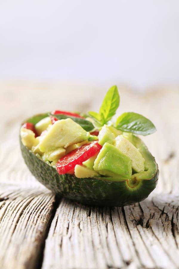 Insalata dell'avocado immagini stock