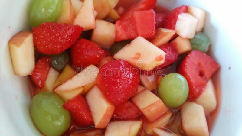 Insalata di frutta immagine stock libera da diritti