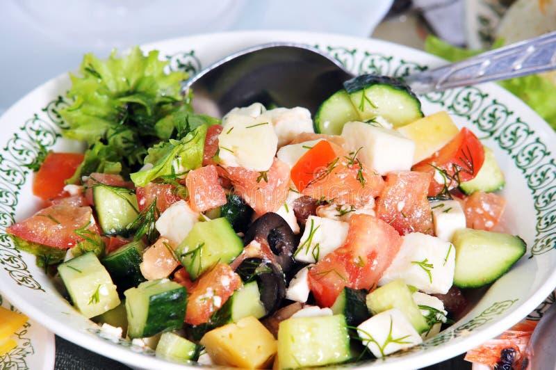 Insalata di verdure. immagini stock libere da diritti