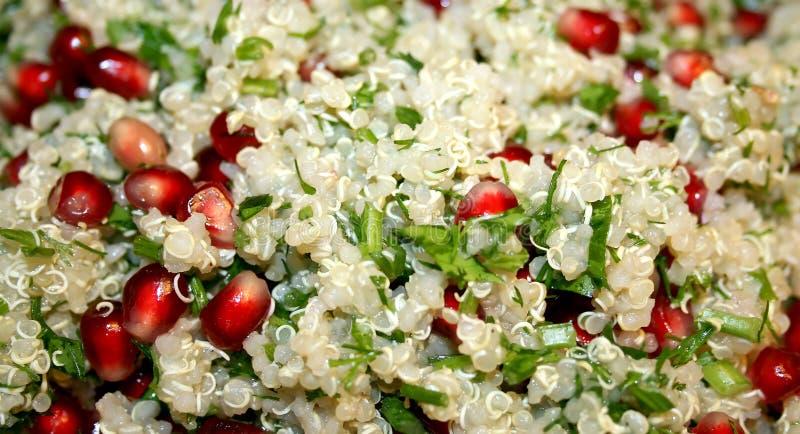 Insalata di verdure della quinoa immagini stock