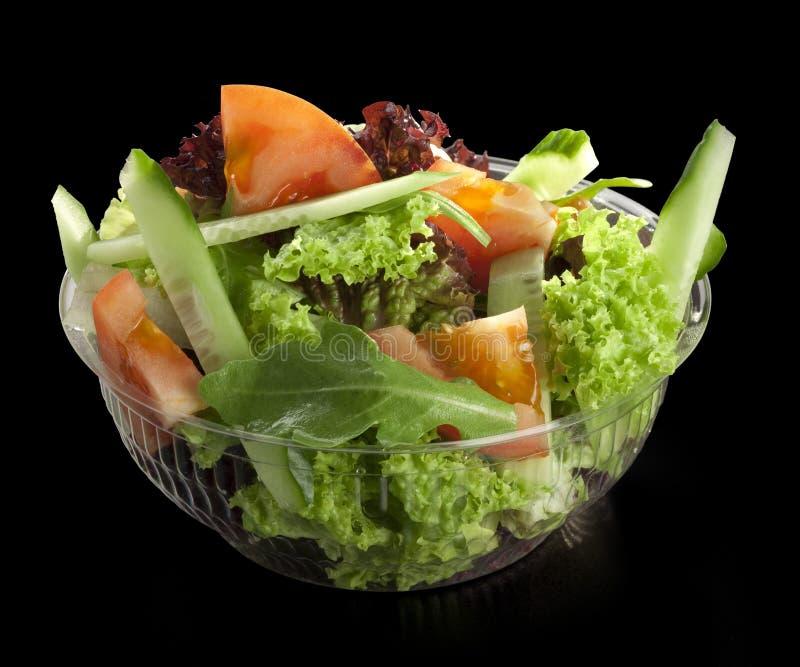 Insalata fresca della verdura fresca fotografie stock libere da diritti
