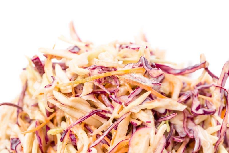 Insalata fresca sana dell'insalata di cavoli fotografia stock