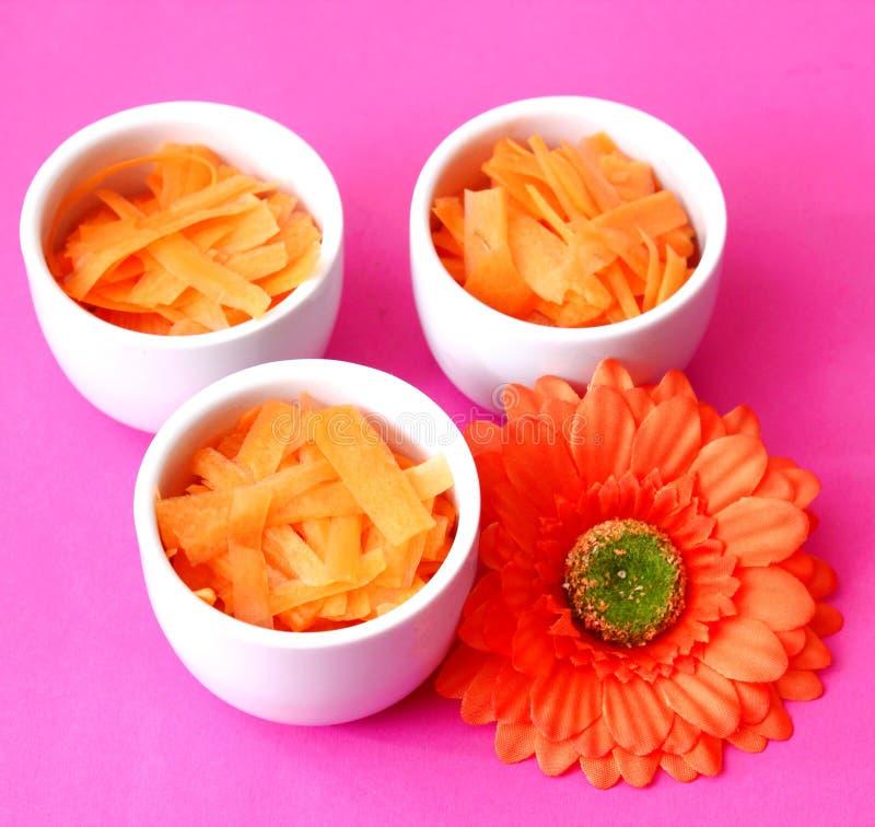 Insalate fresche delle carote