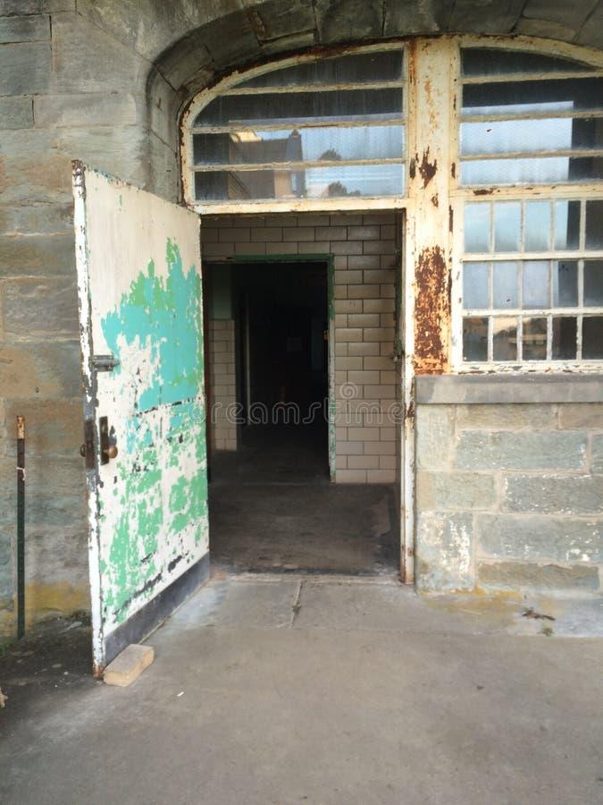 Insane Asylum Weston West Virginia. A peek at the insane asylum mental hospital in Weston West Virginia royalty free stock photos