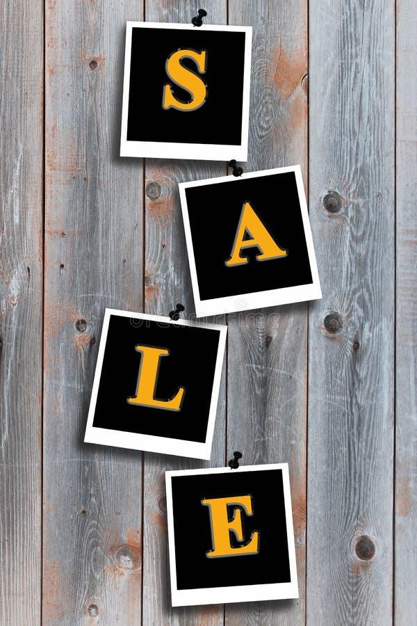Download Inschrijvingsverkoop Op De Grijze Raad Stock Foto - Afbeelding bestaande uit goederen, beige: 39111362