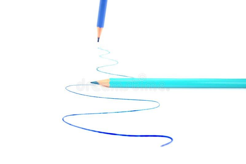 inscription de crayons images libres de droits