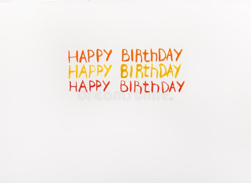 Inscription happy birthday watercolor stock illustration download inscription happy birthday watercolor stock illustration illustration of message birthday 67001853 bookmarktalkfo Choice Image