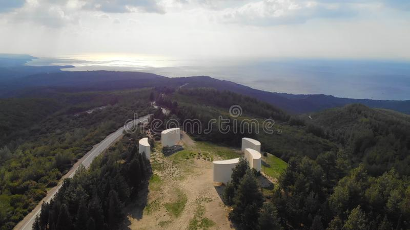 Inscriptions. Chunuk Bair Inscriptions in Gallipoli - Canakkale stock photography