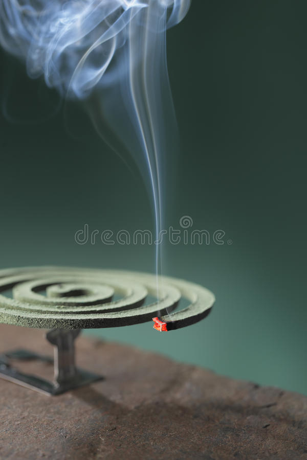 Insect Repellent Incense Royalty Free Stock Photo