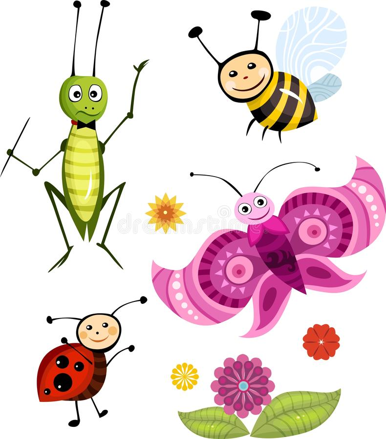 Download Insect Set Royalty Free Stock Photo - Image: 14305065