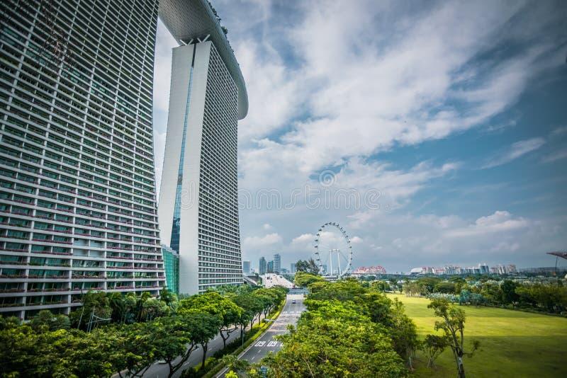 Insecte d'hôtel et de Singapour de Marina Bay Sands à Singapour photo stock