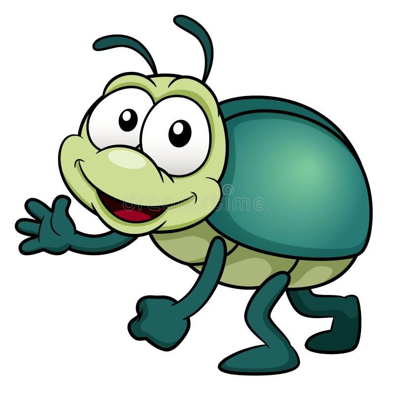 Insecte de bande dessinée illustration libre de droits