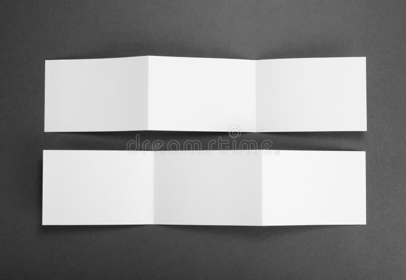 Insecte de papier se pliant blanc vide image libre de droits