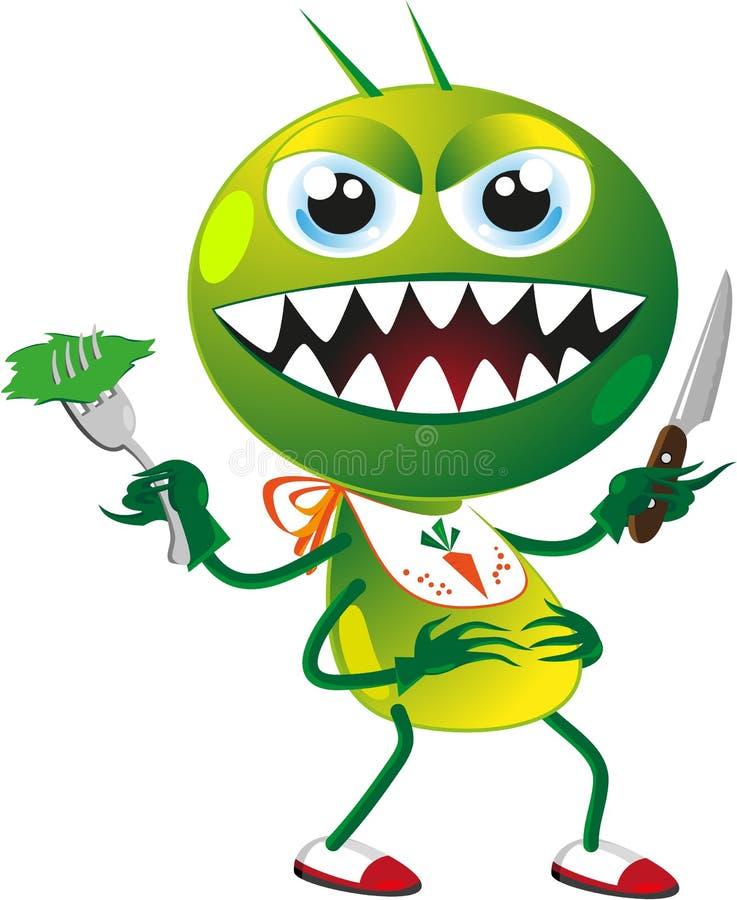 Insecte de parasite illustration libre de droits