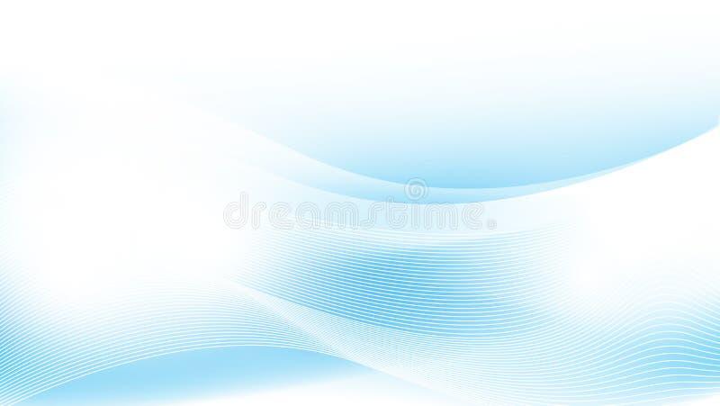 Insecte de tract de brochure, calibre de couverture, fond géométrique bleu de résumé illustration stock