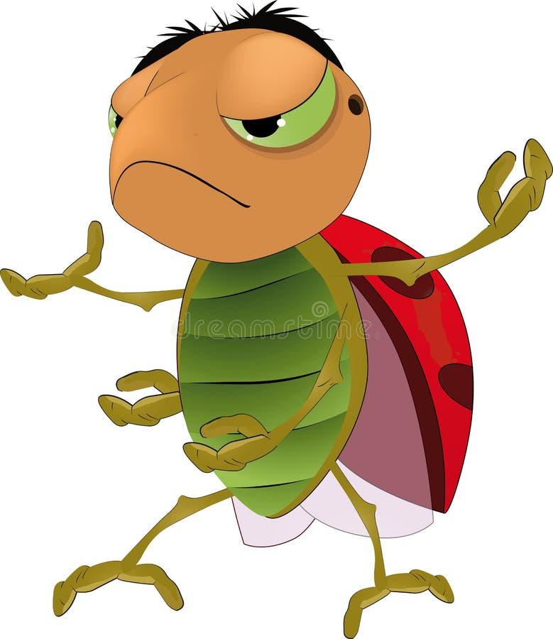 Insecte gentil illustration libre de droits