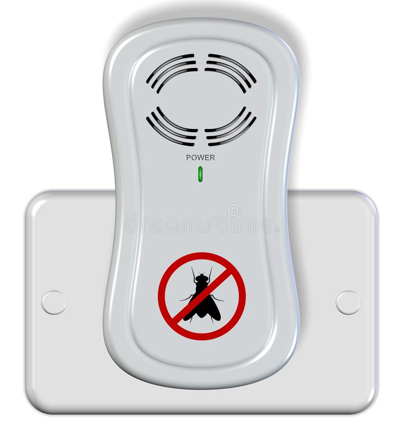 Insectifuge électrique illustration stock
