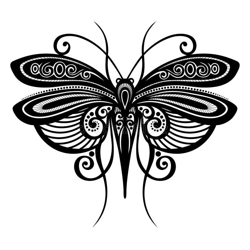 Insectlibel stock illustratie