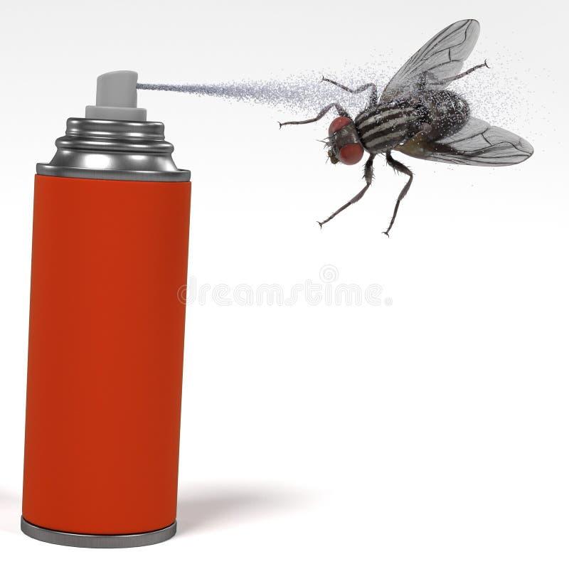 Insecto de la matanza del espray libre illustration