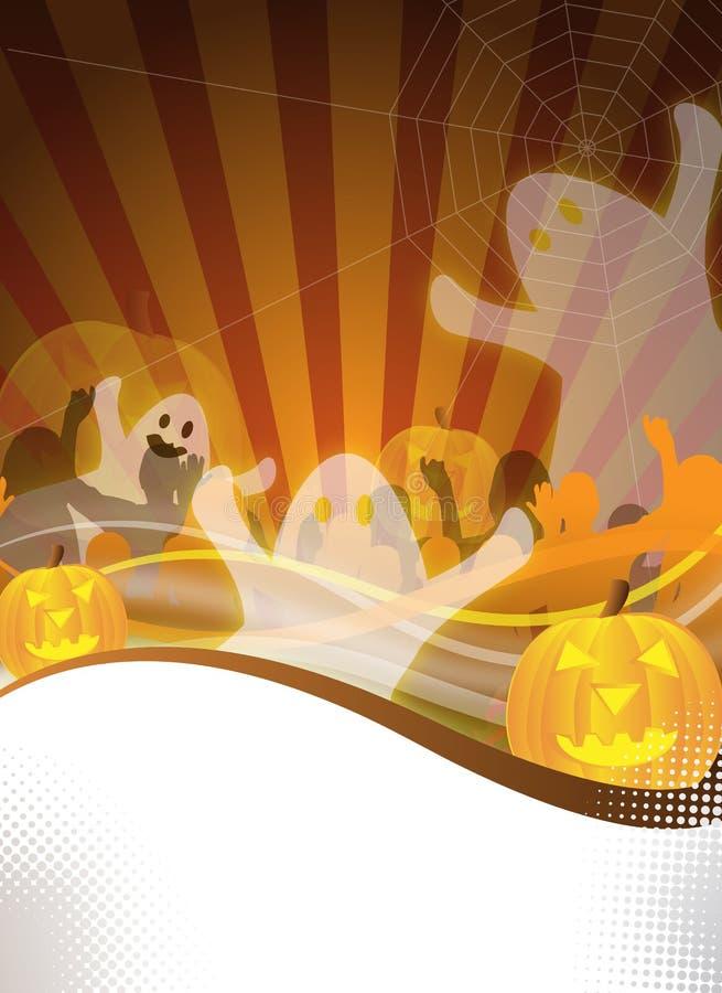 Insecto do partido de Halloween ilustração royalty free