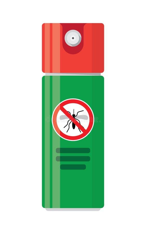 Insecto repugnante del espray libre illustration