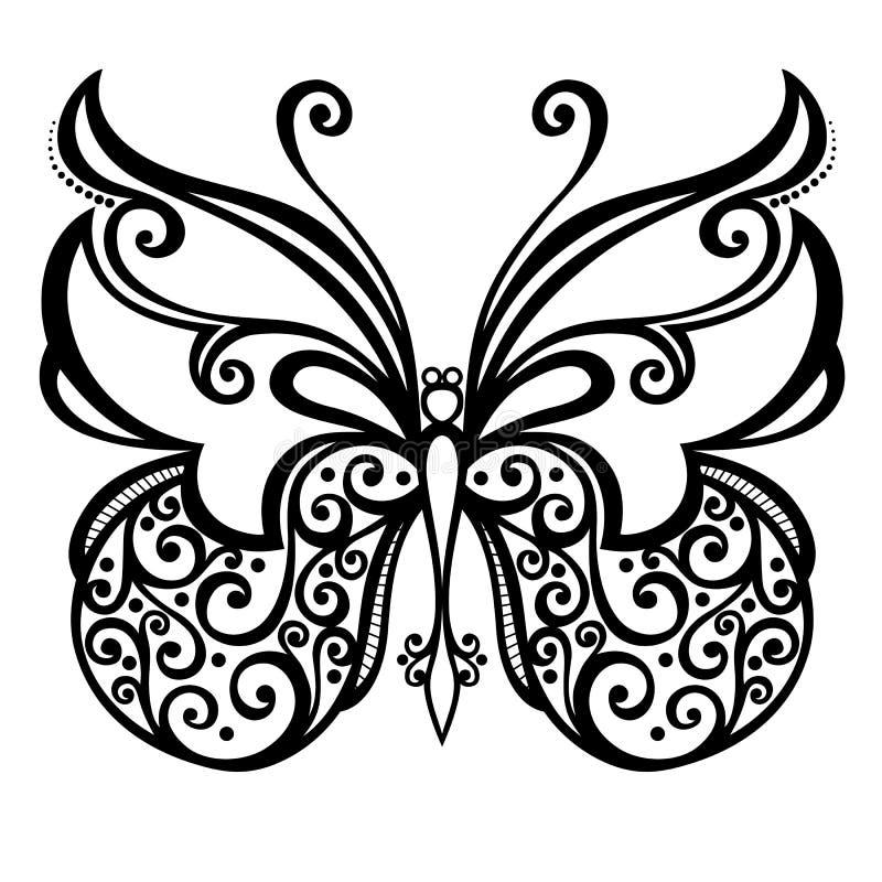 Insectvlinder royalty-vrije illustratie
