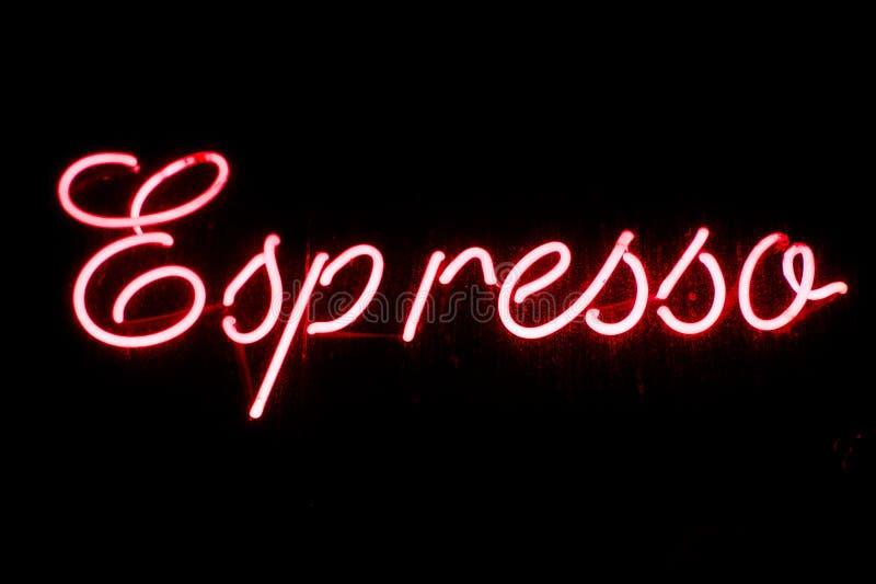 Download Insegna Al Neon Del Caffè Espresso Immagine Stock - Immagine di caffè, espresso: 30829749