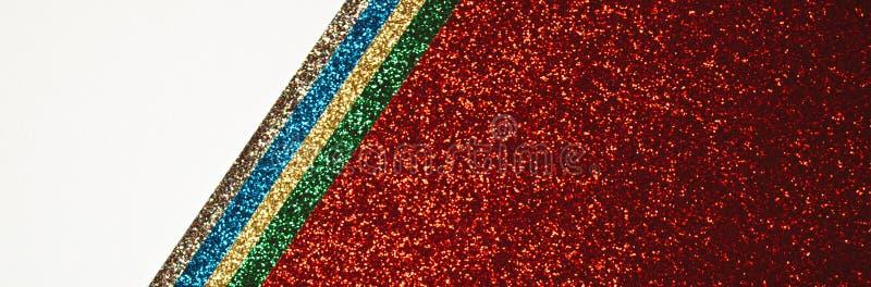 Insegna astratta multicolore rossa immagini stock libere da diritti