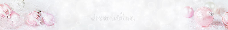 Insegna bianca e rosa di Natale fotografia stock